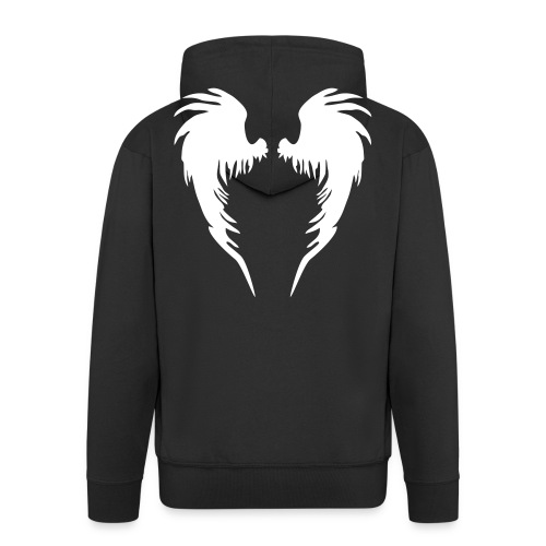 angel - Men's Premium Hooded Jacket