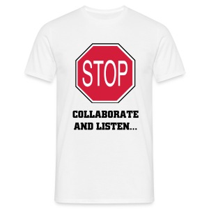 Stop - Vanilla Ice Tee - Men's T-Shirt