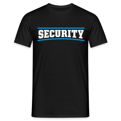 Security T-Shirt - T-shirt herr