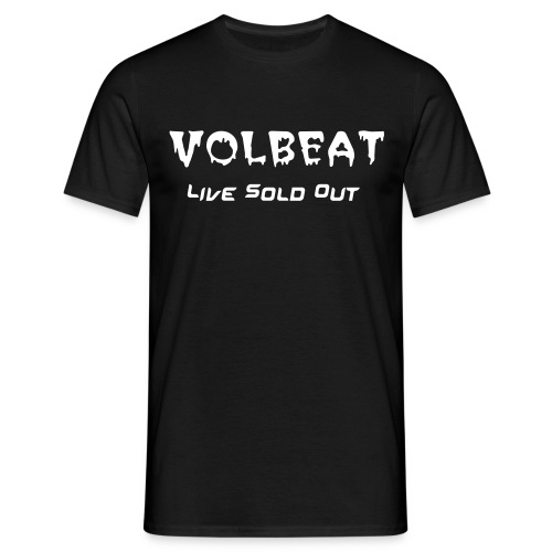 Volbeat Sold Out Live - T-shirt herr