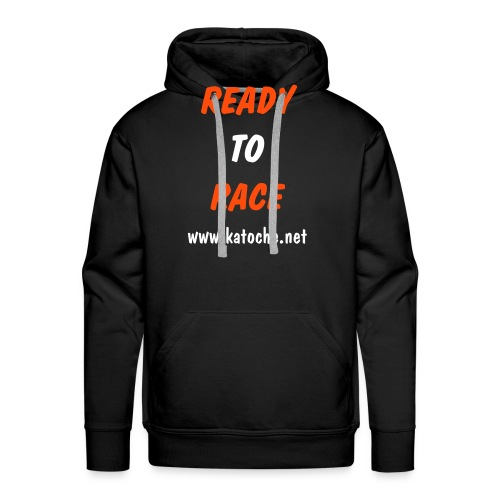 Ready To Race www.katoche.net - Sweat-shirt à capuche Premium pour hommes
