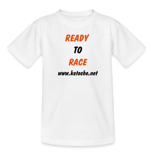 Ready To Race www.katoche.net - T-shirt Ado