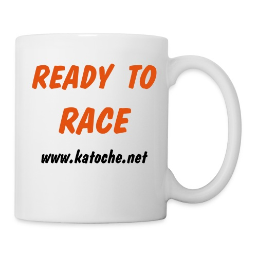 Ready To Race www.katoche.net - Mug blanc
