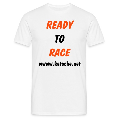 Ready To Race www.katoche.net - T-shirt Homme