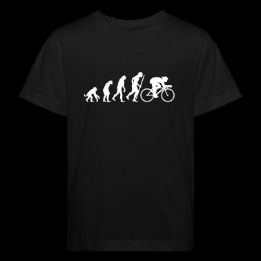 Black Evolution of cycling Kid's Shirts