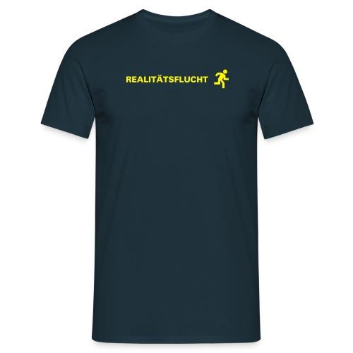 Real/aqua - Männer T-Shirt
