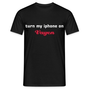 Turn my iphone on - Men's T-Shirt