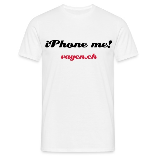 iPhone me! - Men's T-Shirt