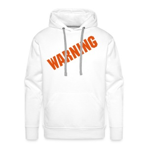 WarNinG - Sweat-shirt à capuche Premium pour hommes