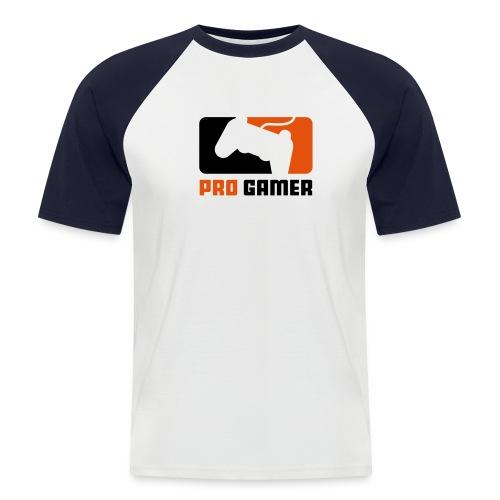 Pro gamer - Camiseta béisbol manga corta hombre