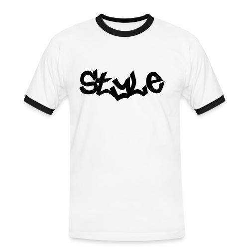 Style - Männer Kontrast-T-Shirt