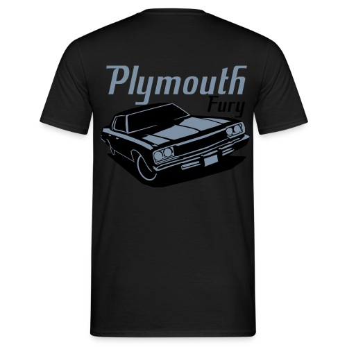 Playmouth Fury T-shrt Herre Basis - Herre-T-shirt