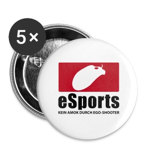 eSports - kein AMok - Buttons groß 56 mm
