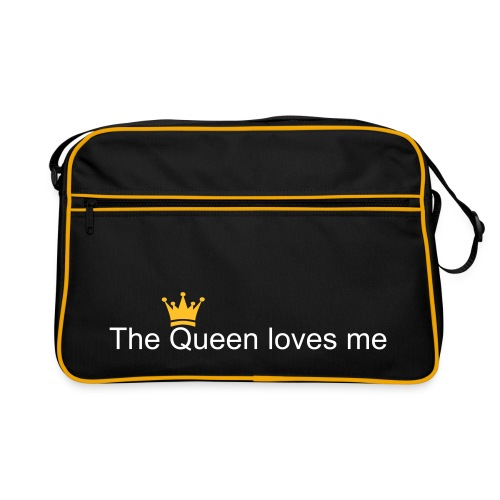 Queen loves me - Retro Bag