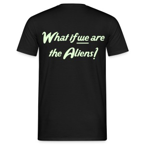 What if... - Glow in the dark - Mannen T-shirt