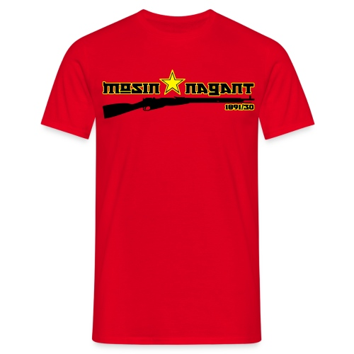 Mosin Nagant 1891/30 red Flex Print - Men's T-Shirt