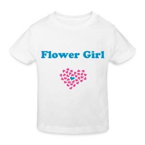 Flower Girl - Kinderen Bio-T-shirt