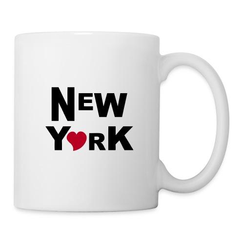 New York - Mug blanc