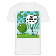 T-Shirts ~ Men's T-Shirt ~ Come in Peas