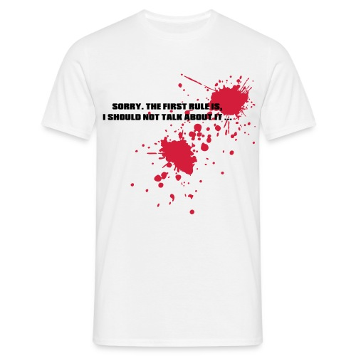 fight club - Men's T-Shirt