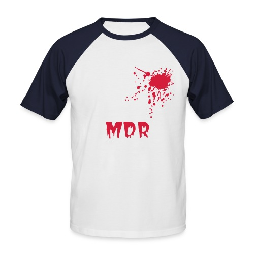 MDR!! - T-shirt baseball manches courtes Homme