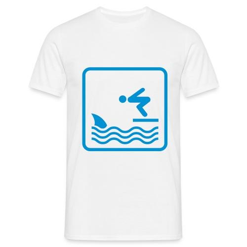 Haaaaiiii - Mannen T-shirt