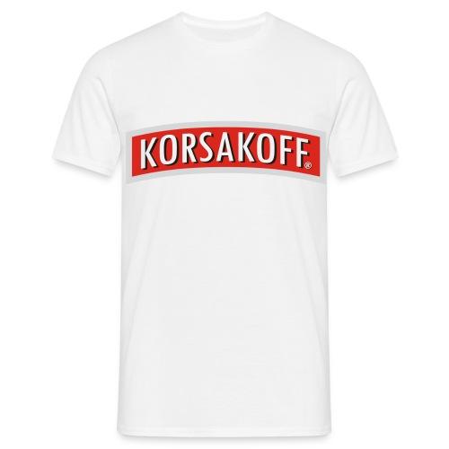 Korsakoff - Mannen T-shirt