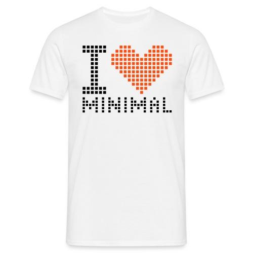 Men's T-shurt minimal - Men's T-Shirt