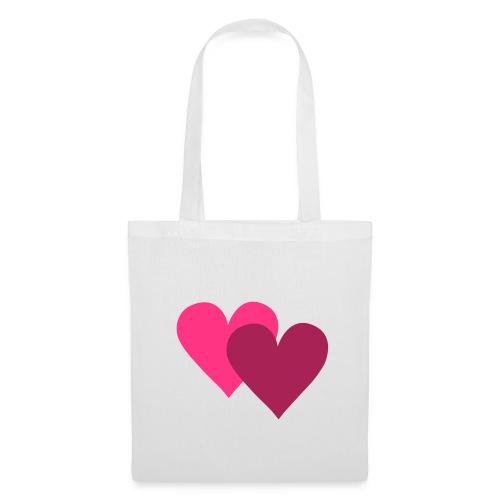 serduszkowa torba - Torba materiałowa