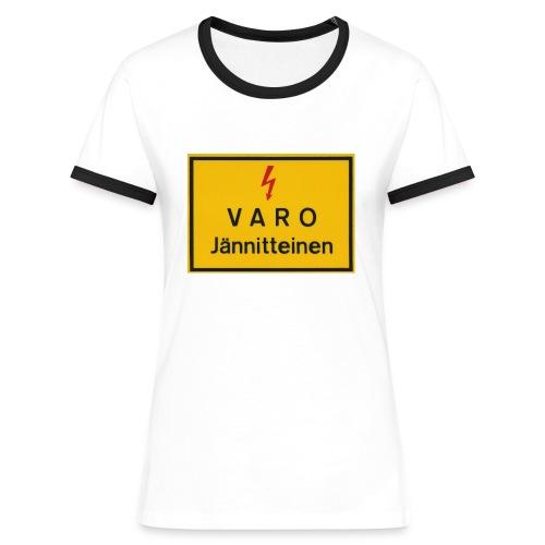 CoolShrt Varo - jännitteinen T-paita - Naisten kontrastipaita