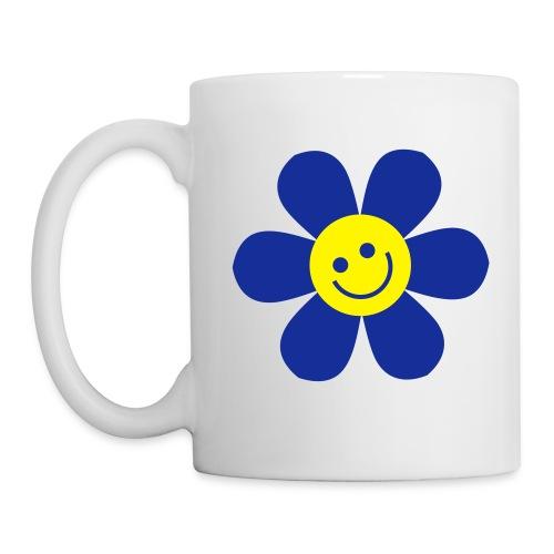 Tasse Ecolo bleue - Mug blanc