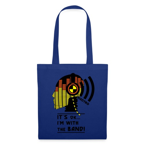 With The Band Shopping Bag - Tote Bag