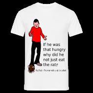 T-Shirts ~ Men's T-Shirt ~ Rat Foot
