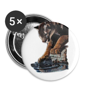 Badge Cougar - Badge grand 56 mm