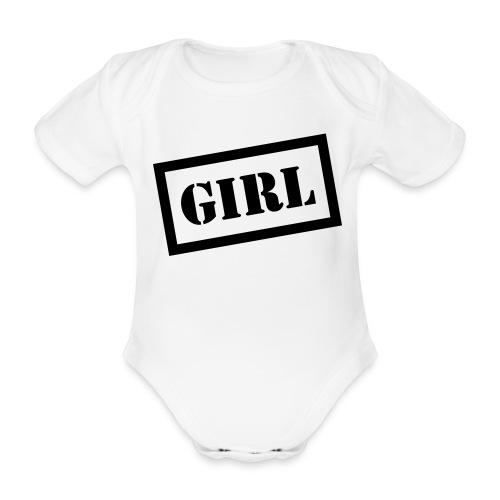 Girl Baby - Organic Short-sleeved Baby Bodysuit