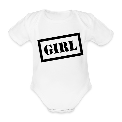 Girl Baby - Organic Short-sleeved Baby Bodysuit