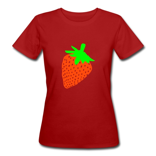 aardbei - Vrouwen Bio-T-shirt