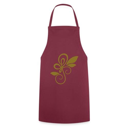 Tablier de cuisine L'Arabesque et les Feuilles - Tablier de cuisine