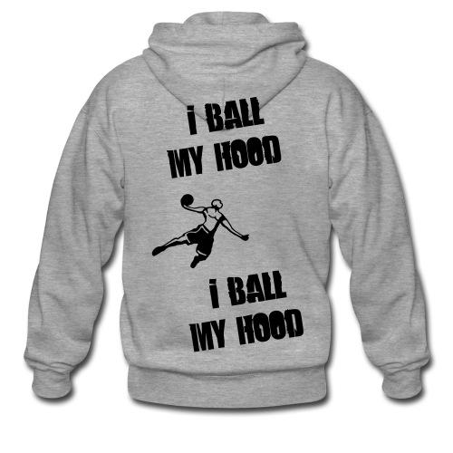 get air - Men's Premium Hooded Jacket