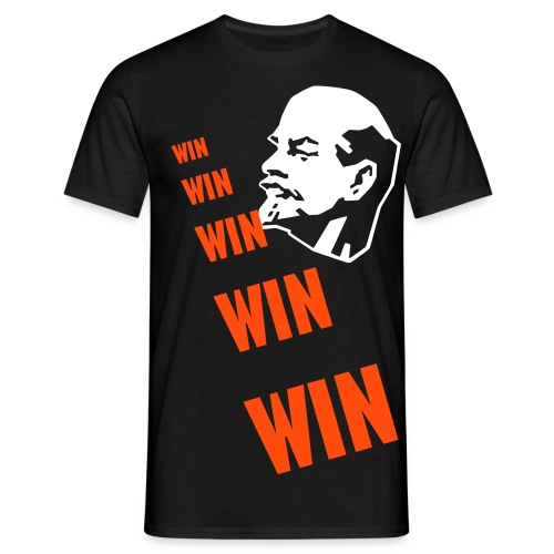 Lenin_win - T-skjorte for menn