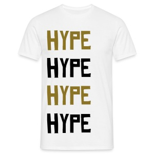 hype hype hype hype GOLD METALLIC - Men's T-Shirt