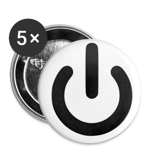 Uit - Badge - Buttons klein 25 mm