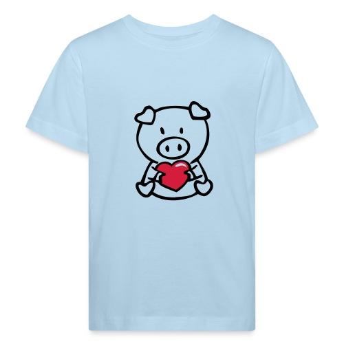 Lief varkentje - Kinderen Bio-T-shirt