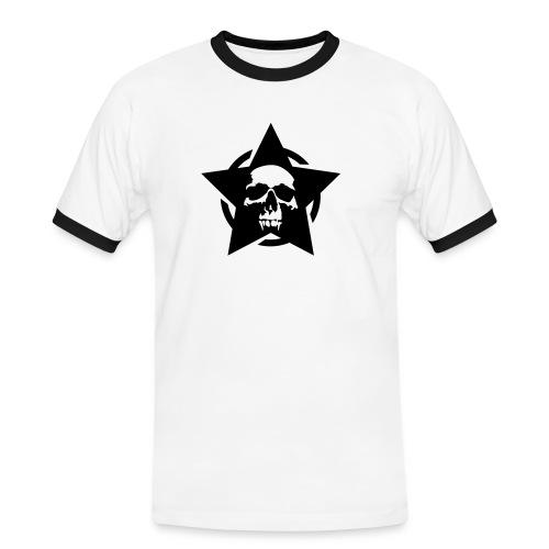 Skull Star 2 - Miesten kontrastipaita