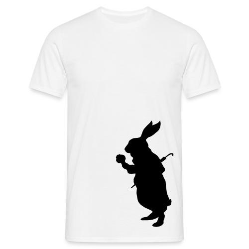 White Rabbit Basis Shirt - Männer T-Shirt