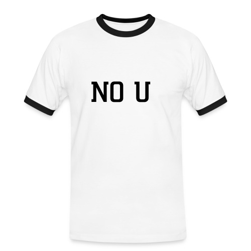 NO U - Men's Ringer Shirt