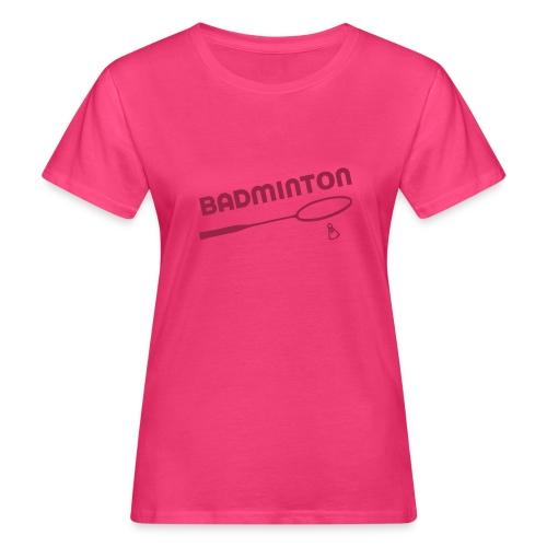 Badminton - T-shirt bio Femme