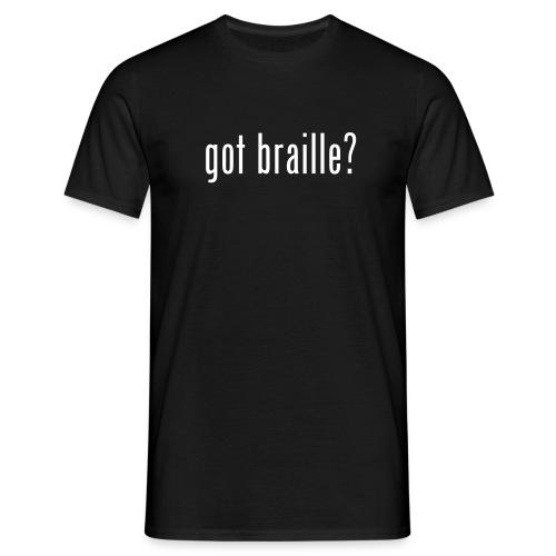 Mein erstes Taktiles Shirt.. - Männer T-Shirt