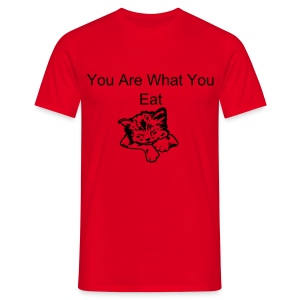 You are what you eat T-Shirt - Men's T-Shirt