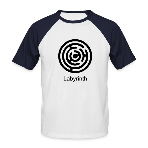 Labyrinth - Männer Baseball-T-Shirt